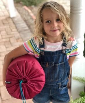 Kelty Callisto 30 pink kids sleeping bag