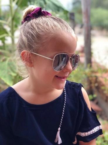 sunglasses navy cutout jumper snapper rock