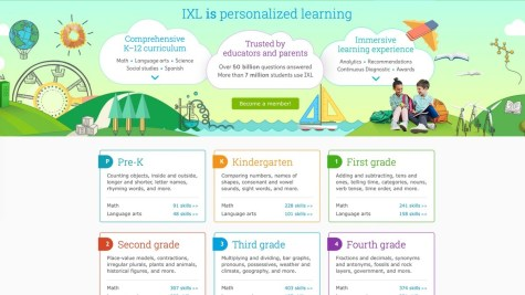 IXL learning math online tutoring app