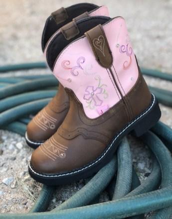 Justin Boots Esmerelda Pink