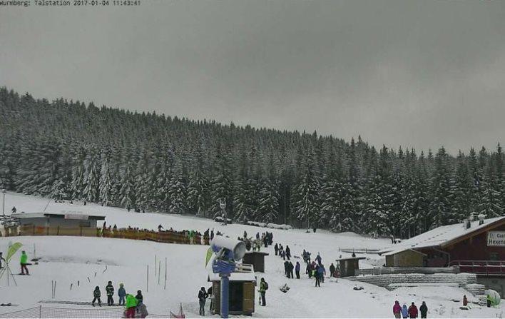 Endlich Schnee im Harz