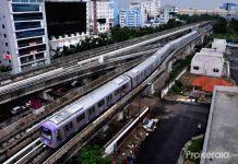 Kolkata East-West Metro Trial Run
