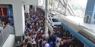 Increasing ridership in Hyderabad Metro