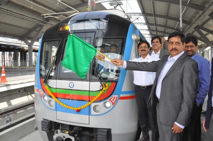 Hyderabad: Metro begins trials on Ameerpet-Hitec City