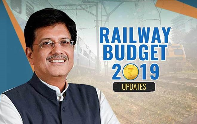 Government allocates Rs.64,587 Crore for Railways in 2019-20