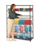 qwikSLOT Drop Mat Shelves