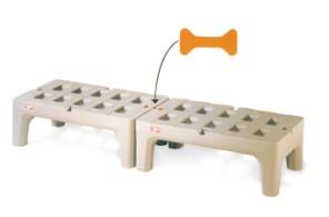 Metro Bow-Tie Dunnage Racks