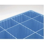 Benstat Blue Dividers- Static Dissipative