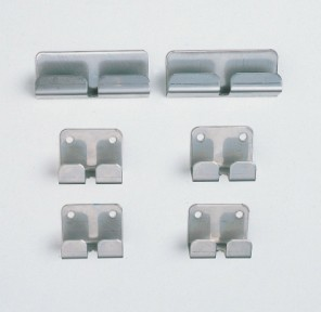 Metro Bracket Kit to Attach Grids to Wall Track