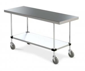 "metro mobile tables 24"""
