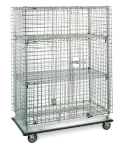 Super Erecta Heavy Duty Security Units