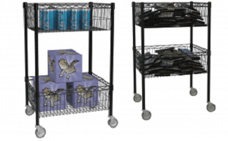 Increasing Storage with Metro Wire Carts