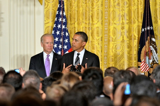 President Obama speaks at LGBT Pride reception