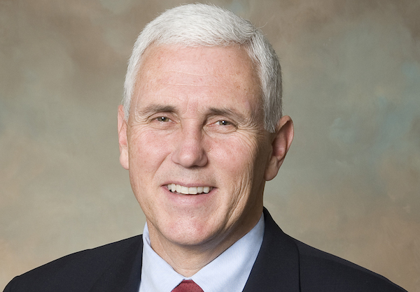 Photo: Mike Pence. Credit: Official portrait.