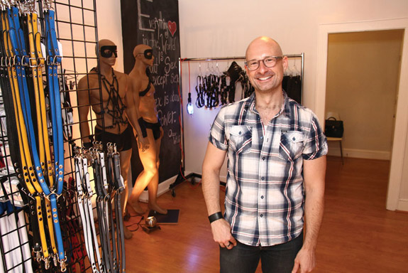 Dan Snyder owner of Trick Box Photo by Aram Vartian