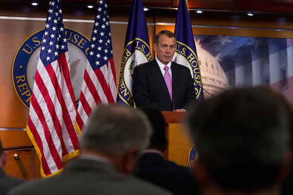 John Boehner - Credit: Bryant Avondoglio/Speaker's Office