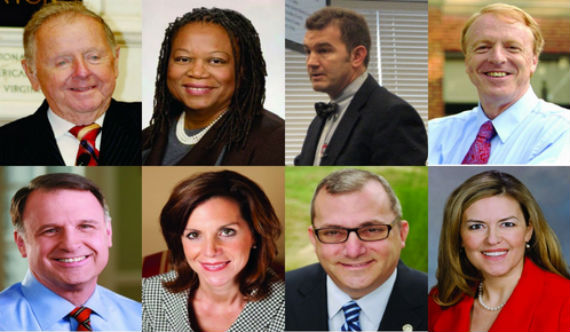 Legislators voting in favor of employment nondiscrimination.