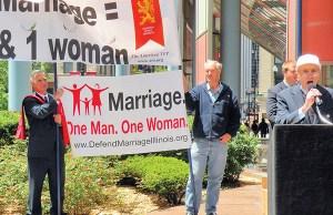 Traditional Marriage rally - Photo: John W. Iwanski