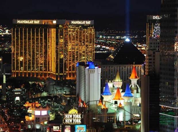 The Strip, Las Vegas (Photo: Sam Morris/Las Vegas News Bureau)