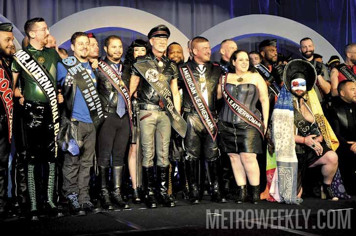 Mr. Mid-Atlantic Leather 2016 Contest
