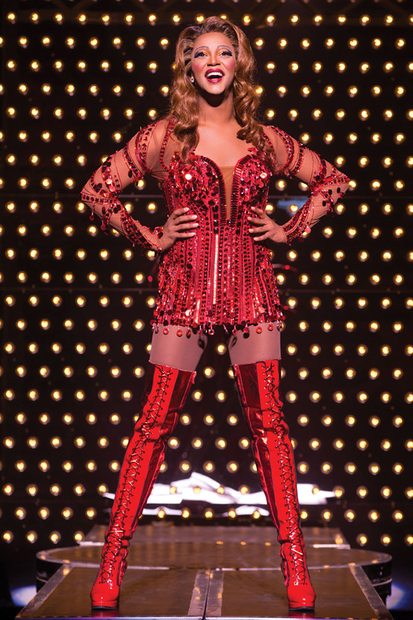 Kinky Boots: J. Harrison Ghee -- Photo: Matthew Murray