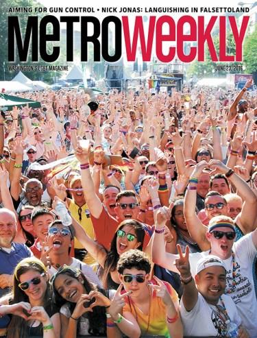 Cover of Metro Weekly, June 23, 2016