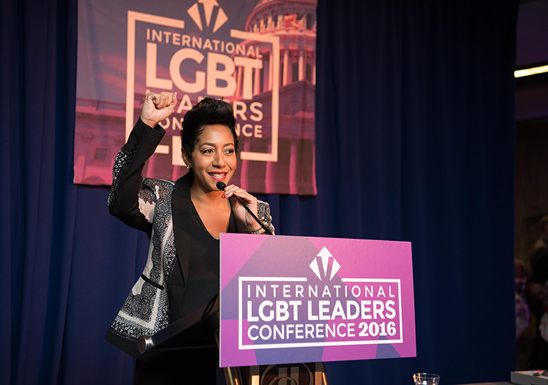Aisha Moodie-Mills -- Photo courtesy The Victory Fund International LGBT Leaders Conference