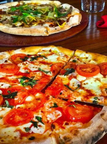 Lena's Wood-Fired Pizza, takeout, pizza, food