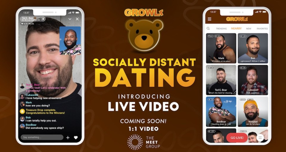 growlr, bear, gay, dating, video