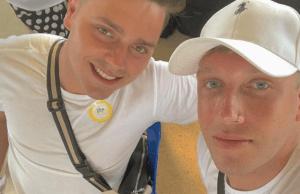 gay, couple, sainsbury's