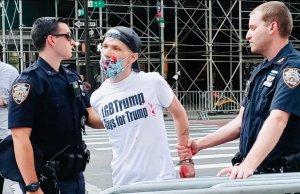marky hutt, lgbtrump, black lives matter, arrest