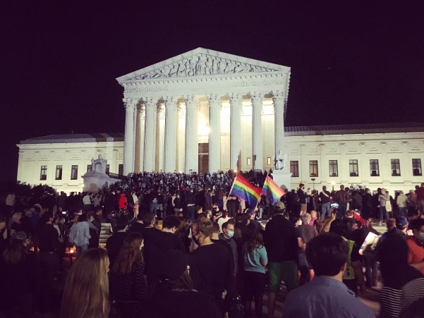 Mourning Ruth Bader Ginsburg at the U.S. Supreme Court