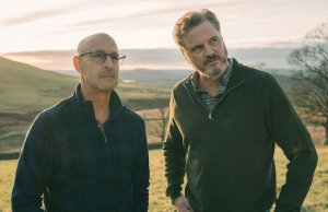 stanley tucci, colin firth, supernova, gay, couple, film, trailer