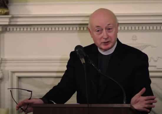 george rutler, priest, assault, gay