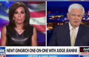 newt gingrich, jeanine pirro, fox news