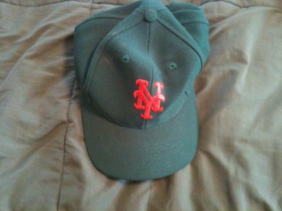 original irish night green mets cap