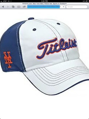 Mets Titleist Cap  - The Mets Police 3f9946d1bc4