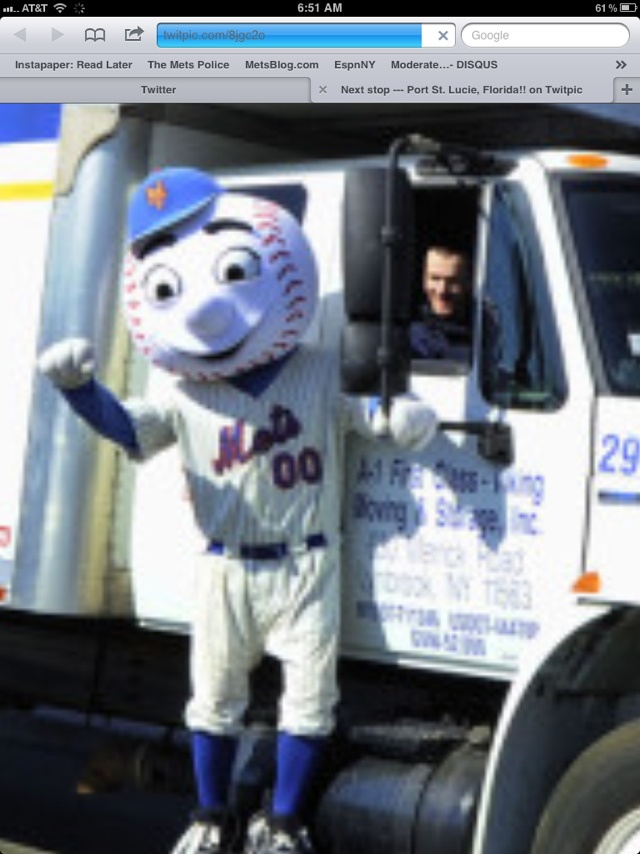 best website 43d85 f1c3d Mr. Met continues his throwback jersey protest - The Mets Police