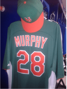 One of only 5 such Murphy 28 jerseys known to exist to mankind.