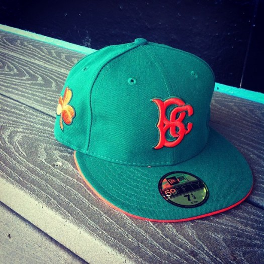 green irish cyclones cap