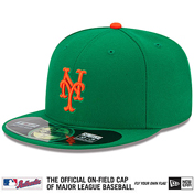 2015 mets on field cap st. patricks day
