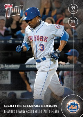 topps now granderson card