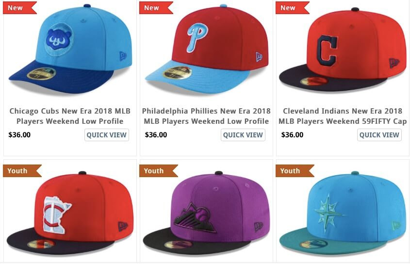 the latest 430a4 5b44e ... where can i buy 2018 players weekend caps mets plus other teams 4b197  2d08f