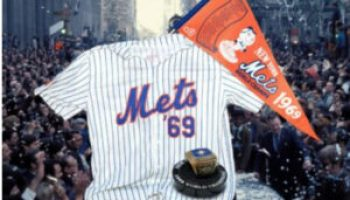 Mets 1969 World Series on field ceremony video - The Mets Police