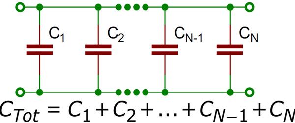 Cara Menghitung Total Nilai Kapasitor Rangkaian Seri Dan Paralel