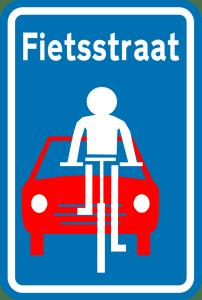 begin-fietsstraat