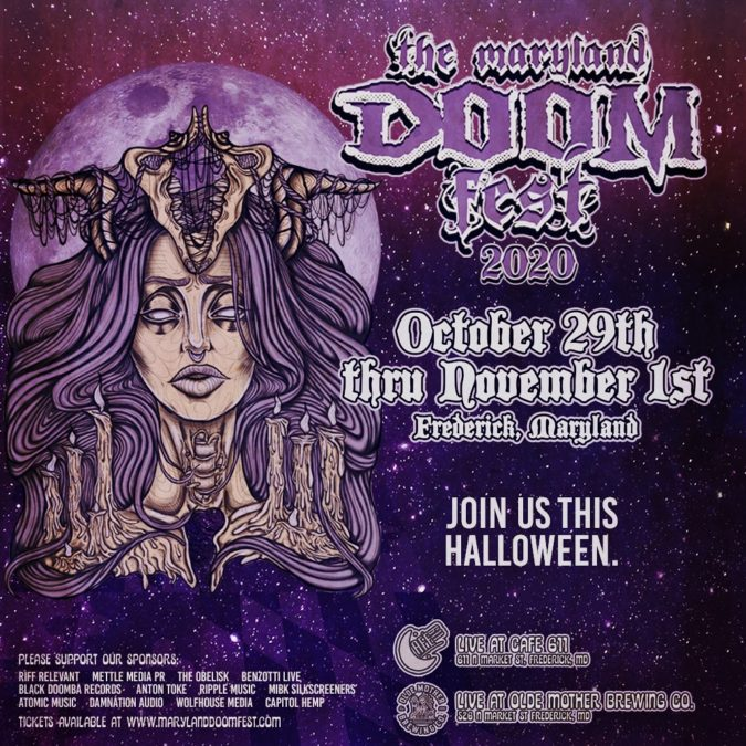 Halloween Events Today Oct 29th 2020 MARYLAND DOOM FEST 2020 Rescheduled For OCT. 29 – NOV. 01