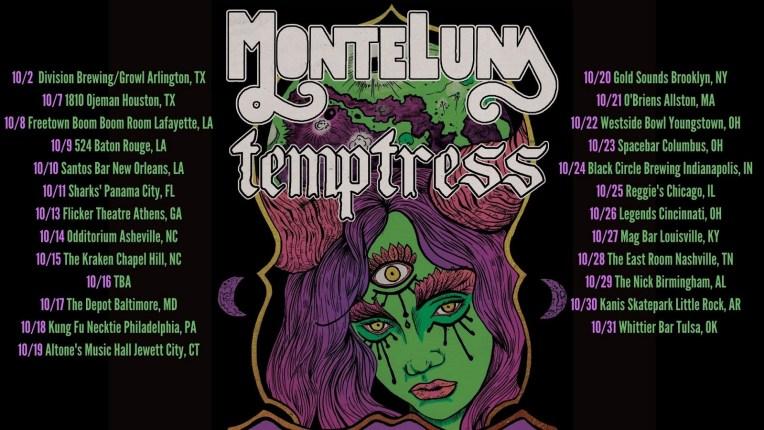 Monte Luna Temptress Tour 2021 banner