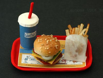 Dieses XXS-Menü hat sicher nicht zu viele Kalorien