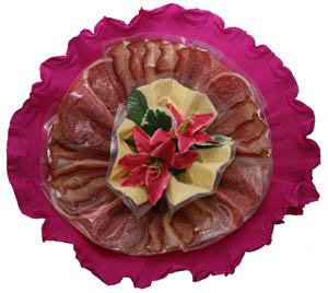 Valentinstag Blumenstrauss aus Wurst